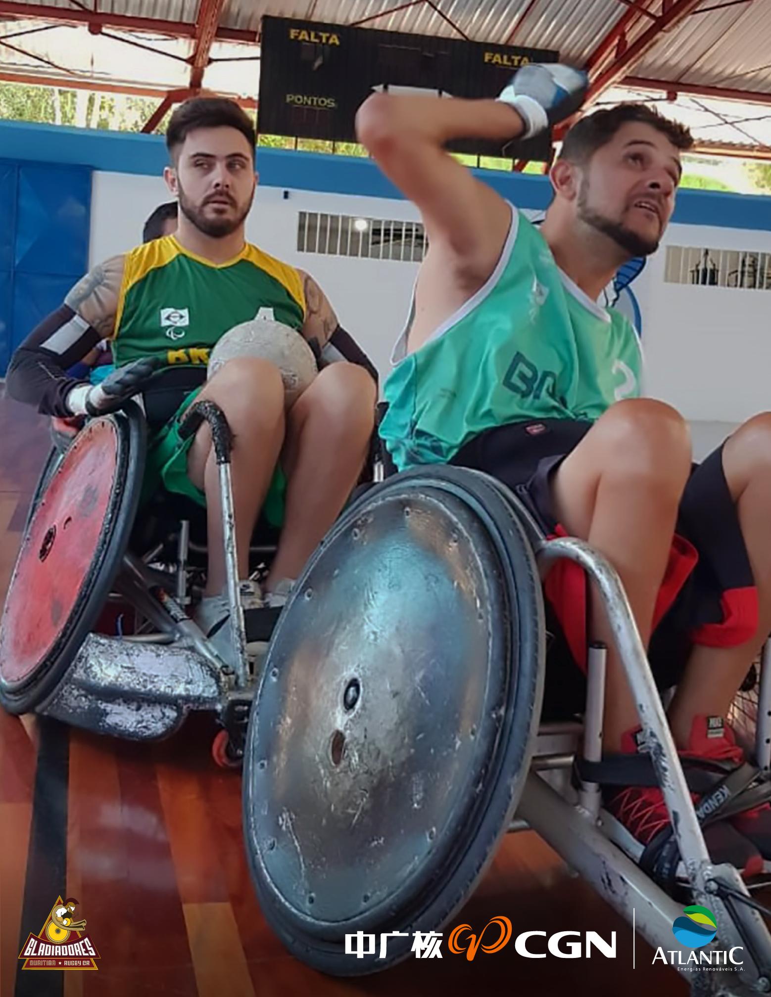 seleção brasileira de rugby em cadeira de rodas